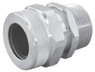 APP CG87125NA 1-1/4-INCH NICKEL ALUMINUM CORD GRIP CONNECTOR
