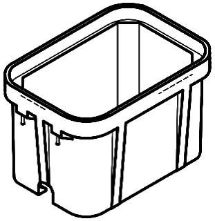 QUAZ PG2436BA18 BOX W/NO BASE 18 INCH