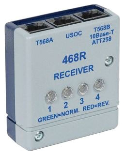 Wiremap Tester Receiver