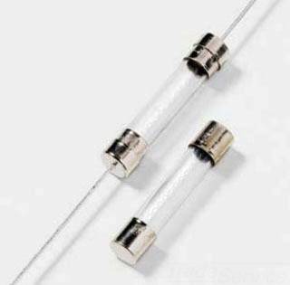 L-FUSE H312001P FAST-ACTING 3AG TYPE GLASS FUSE BULK 100-PACK