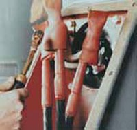 RAYCHEM MCK-5-2V MOTOR CONDUCTOR KIT #1-250 HEAT SHRINKABLE