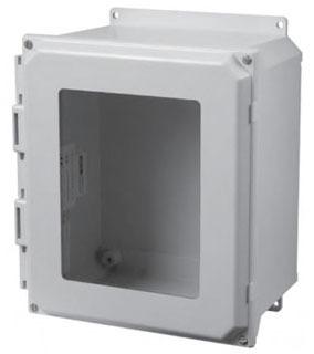 HAM-MFG PJU181610TW 18X16X10 WINDOW TWIST LATCH W/ MTG FEET