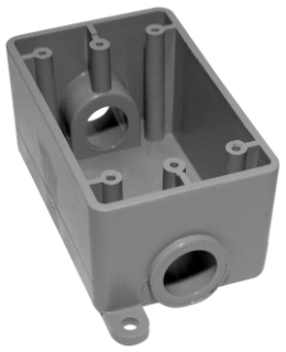 IPEX 078227 FSC07 3/4-INCH PVC FSC SINGLE GANG BOX KRALOY