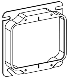 Electrical Square Box Device Ring