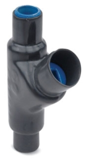 OCAL EYS31SA-G 1-IN ALUM PVC-COATED EYS FITTING GRAY