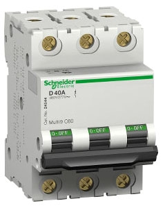 SQD MG24169 SUPPLEMENTARY PROTECTOR 480Y/277V 63 AMP 3P