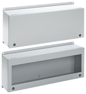 Hinged Solid Door Enclosure