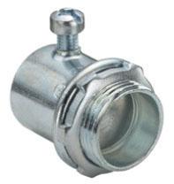 BRDGPT 230-I 1/2 INCH EMT STEEL INSULATED SET SCREW CONNECTOR