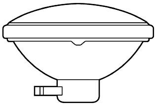 G 150PAR46/3MFL-125 SIDEPRONG LAMP Pro # 41968