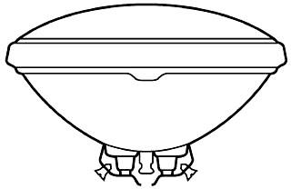 G 60PAR/2/R 38V RED SCR TERM LAMP PRO# 17212
