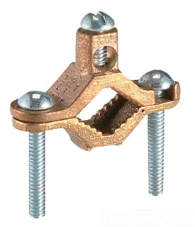 "NSI G-2-S 1-1/4""-2"" BRASS GRD CLAMP"