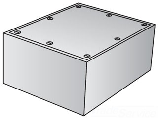GED YU-060606 CAST IRON JUNCTION BOX