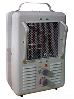 TPI 188TASA 1500/130W 120V FAN FORCED MILKHOUSE STYLE PORTABLE HEATER
