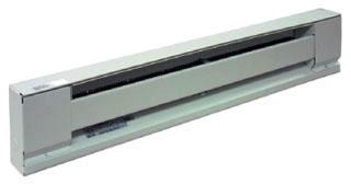 TPI H2910-048S-WH 4' 1000W 240V WHITE BASEBOARD