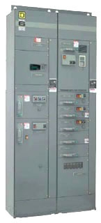 SQD 8998HBF015 MCC, COMPAC 6,15AMP BRANCH CKT BREA