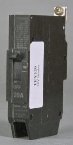 GE TEY140 1P-277V-40A CB