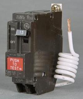 GE THQB1130GF THQB 1 POLE 120V GFCI 10K IC 30 AMP