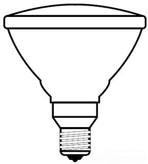 G 65PAR/3FL/MINE-120 INCAND LAMP Pro # 80314