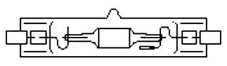 G CMH70/TD/830/RX7S 70W MH LAMP PRO# 92587