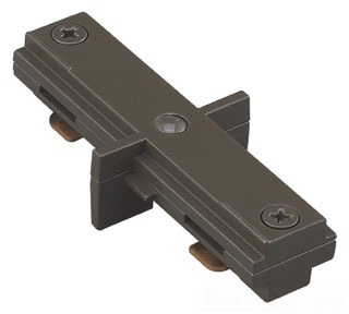 WAC HI-BK BLACK STRAIGHT LINE CONNECTOR