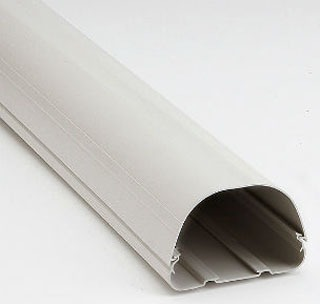 "REC 84104 4.5"" DUCT 8FT WH 122"