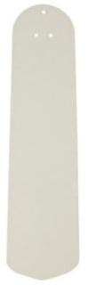 "CAS 99001 22"" TRADITIONAL BLADES MATTE SNOW WHITE / COTTAGE WHITE"
