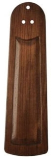 """CAS 99010 22"""" TRANSITIONAL BLADES WHITMAN CARVED WOOD / WALNUT"""