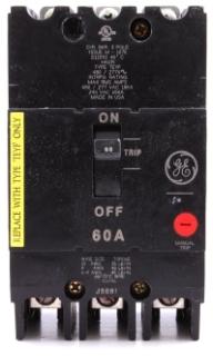 GE TEYF360 3P 60A CB