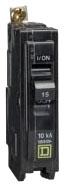 SQD QOB215GFI 2P 15A 120/240V BOLT-ON GFI CIRCUIT BREAKER