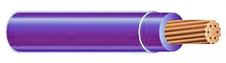 WIRE-THHN10STRPURPLE-0500