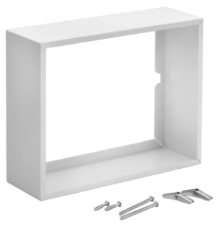 Surface Mount Kit. White enameled steel. For use with