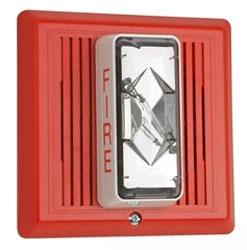 Strobe, Fire Alarm Signal, 15/75 CD, Red