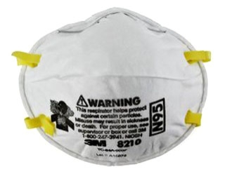 N95 Particulate Respirator (20/box, 8 boxes/case)