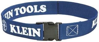 "Tool Belt, Lightweight Web, 2"", Adjusts to 52"" waist, Blue"