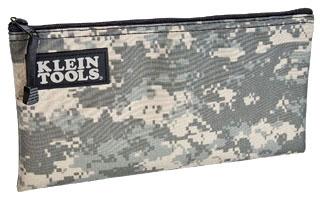 "Zipper Bag, Cordura, Camouflage, 12-1/2"" X 7"""
