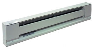 "600W 120V 36"" Baseboard Htr, Steel Element, White"