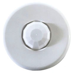 PIR Ceiling Occupancy Sensor 1,200 sq. ft. 24 VDC,