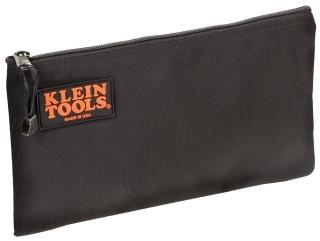 "Zipper Bag, Cordura Ballistic Nylon, Black, 12-1/2"" X 7"""