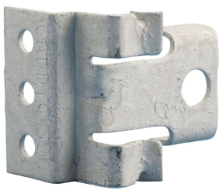 Metal stud box support *