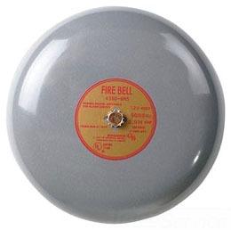 Fire Alarm Bell 6 24VDC Red
