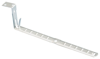 Cable support- Non-metallic or metal clad to wood or