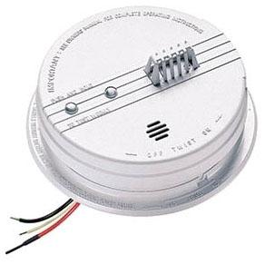 135° Heat Detector - 120V AC w/9V backup