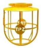 YELLOW PLASTIC LAMP GUARD