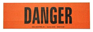 MARKER CARDS DANGER/STYLE A