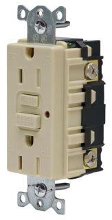 15A 125V COMM LED TAMPER-RES GFCI, IV
