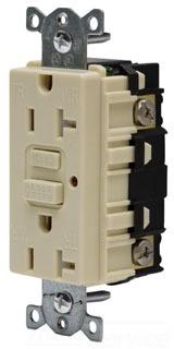 20A 125V COMM LED TAMPER-RES GFCI, IV