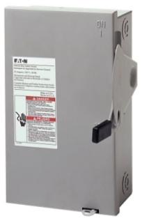 30A/3P GD FUSIBLE SAFETY SWITCH W/NEUT 240V NEMA 1_