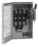 60A/3P GD FUSIBLE SAFETY SWITCH W/NEUT 240V NEMA 1