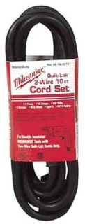 MILW 48-76-5010 16-2S CORD 10FT 2 PRONG