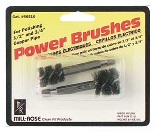 MIL-R 66431 1/2 TUBE BRUSH (SOLD INDIVIDUALLY)